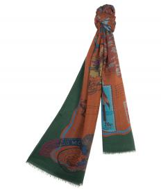 SCARF WITH NEW BOHEMIAN TRAVELLER PRINT