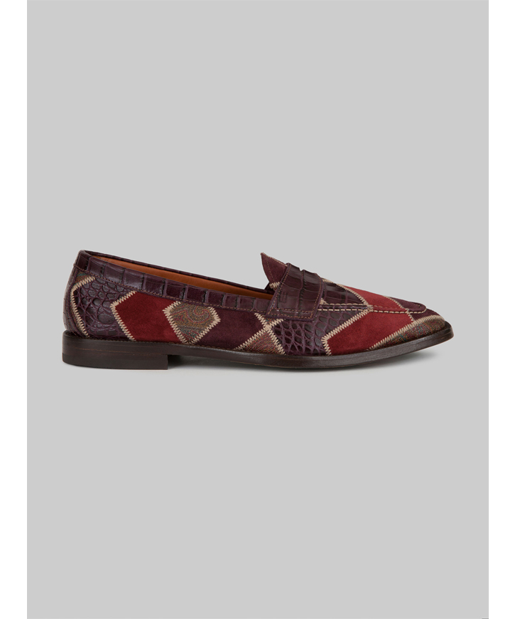 PATCHWORK LOAFERS